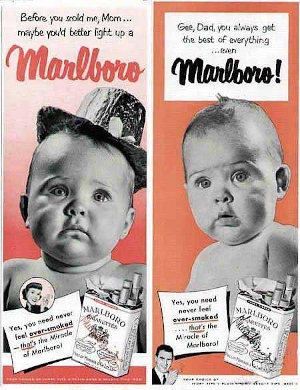 cigarette best ad vintage