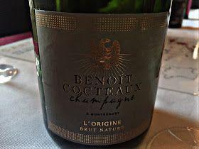 El Alma del Vino.: Champagne Benoît Cocteaux L' Origine Brut Nature