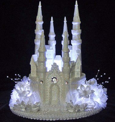 fairy castle wedding cake topper wedding cake on castle cakes cinderella 14093