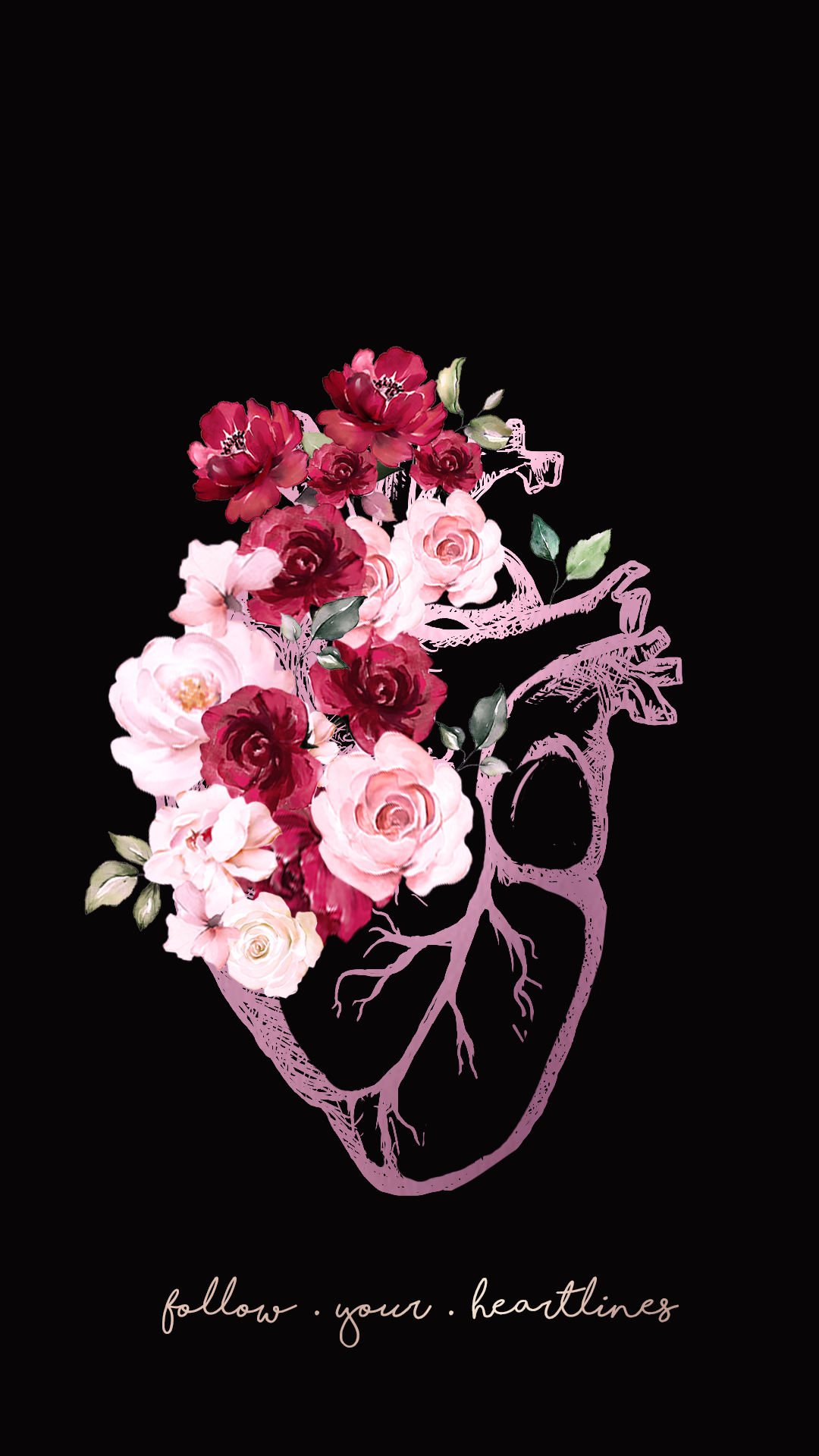 Wallpaper Coração de Flores 2 by Gocase, flowers, flores, rosas, vermelho, red, roses, pink, leaves, folhas, árvores, raízes, trees, roots, nature, follow your heartlines, follow your heart, coração, corações, amor, love, wallpaper, papel de parede, fundo de tela, background, gocase, lovegocase, #wallpaper, #lovegocase, #gocase, #coração, #flores, #rosas, #followyourheart, coração, amor, casal, #wallper, #love