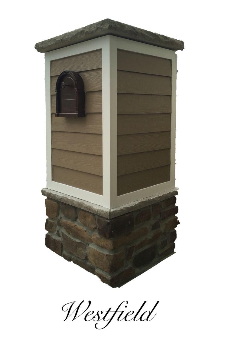 Hardie Siding Mailbox created by