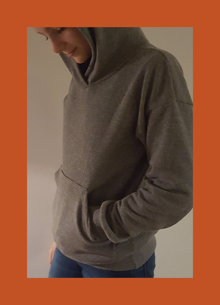 Hope Hooded Sweatshirt | Pdf sewing patterns, Sewing patterns and ...