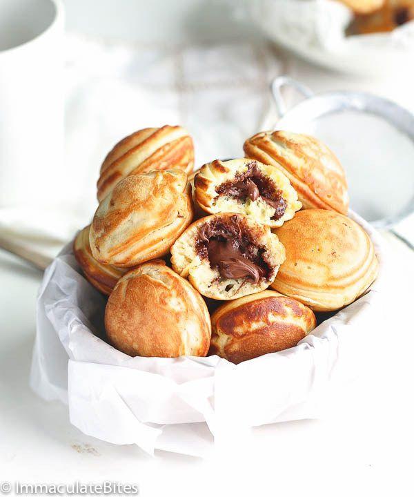 Aebleskiver Danish Pancakes | 23 Stuffed Desserts That'll Blow Your Mind