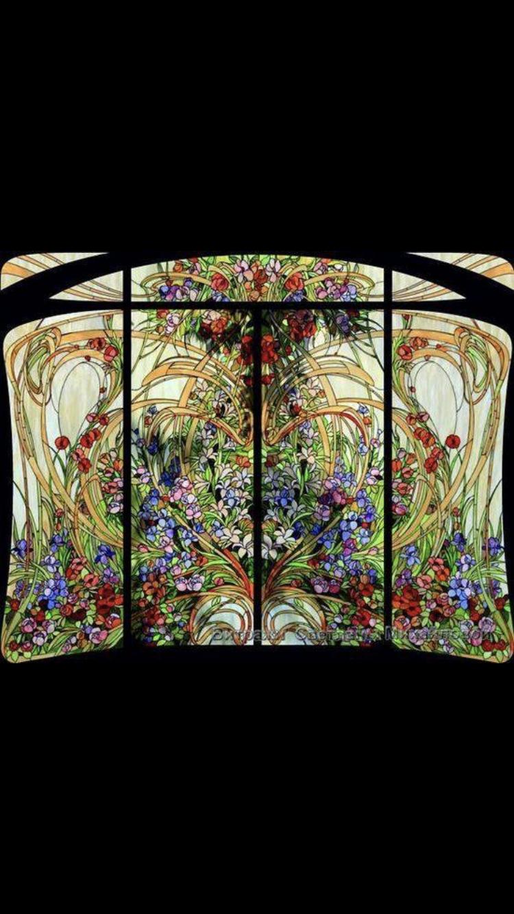 Pin von Oda auf Türen /Tore | Pinterest | Jugendstil, Glas und ...