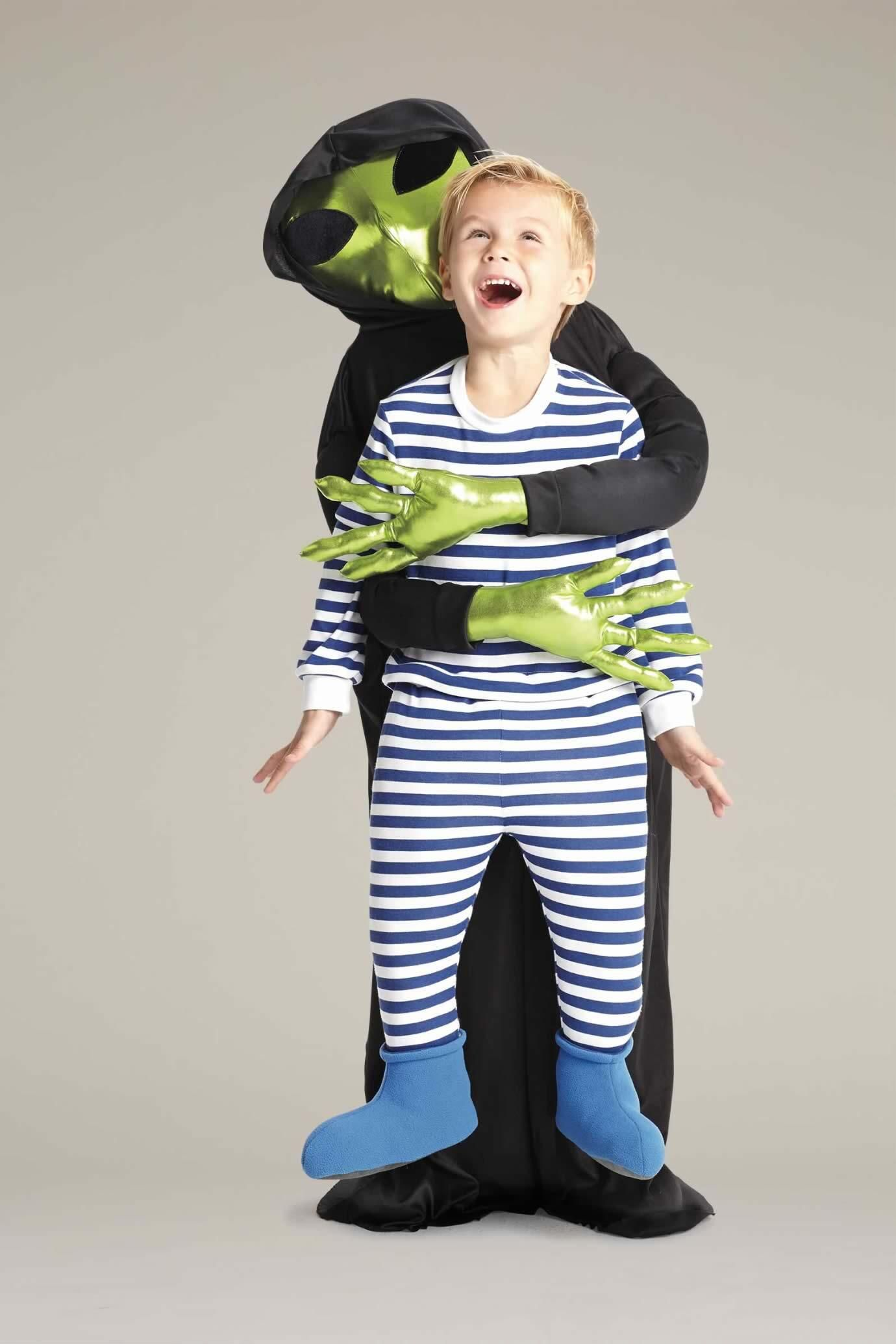 Alien Abduction Costume For Kids | Chasing Fireflies  sc 1 st  Pinterest & Alien Abduction Costume For Kids | Alien abduction Costumes and ...