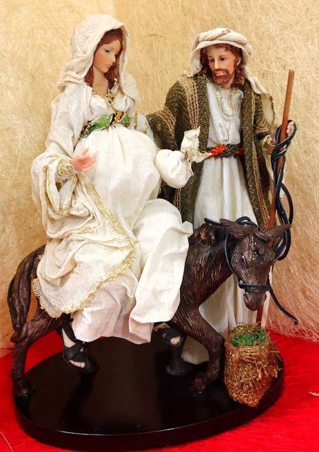 Camino a bel n en burro navidad navidad moderna - Decoracion navidad moderna ...
