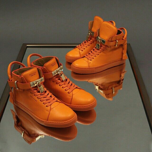 Flotation devices, flare guns, hunting jackets. Each is bright orange. Each might save your life.  Salvation awaits in the form of the BUSCEMI the 100MM Orange and for the first time ever, the 100MM Alta Orange.  Arrives tomorrow at BUSCEMI.com