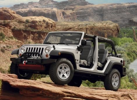 Jeep Wrangler Unlimited Without Doors
