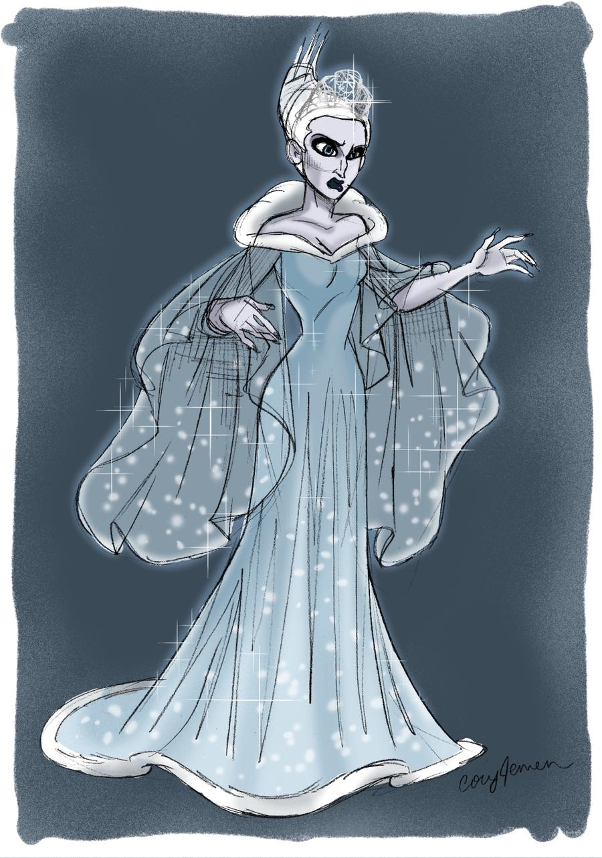 снежная королева картинки из сказки в полный рост рисунок срок дата