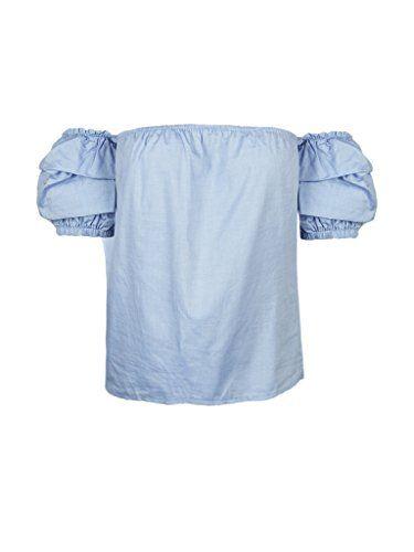 Women's Off The Shoulder Ruffle Blouse Tops Shirt, Medium... https://www.amazon.com/dp/B01IR8LKKU/ref=cm_sw_r_pi_dp_x_prm9xbHN1WS96