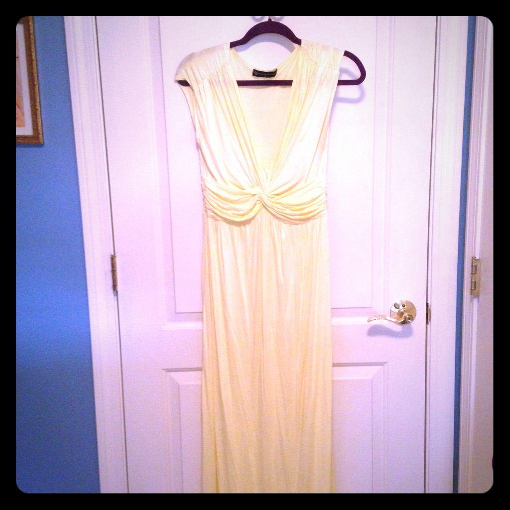 Hot pink maternity maxi dress  Pastel Yellow Maxi Dress  Yellow maxi dress Yellow maxi and Products