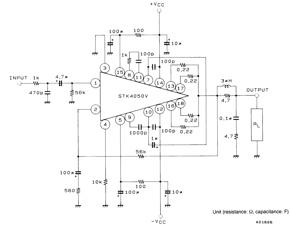200W Power Amplifier Circuit Diagram ~ AmplifierCircuits.com | Dự án ...