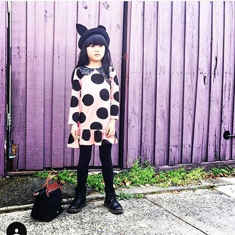 Thank you @lalalingy for This super cute image of out dress #bangbangcopenhagen #dress #bigdots #dots