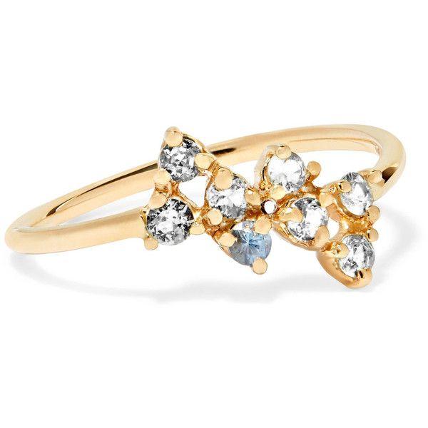 wwake bias 14karat gold sapphire ring 23 490 uah liked on