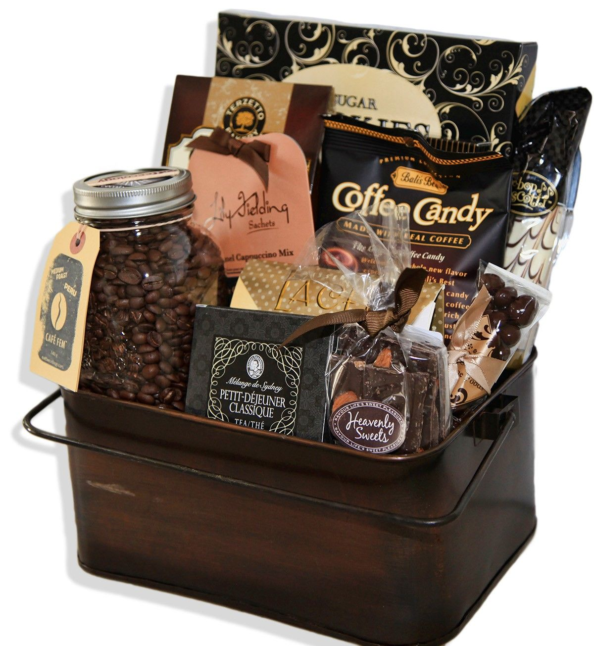 Coffee Lovers Gift Basket Gifts Coffee Gift Baskets