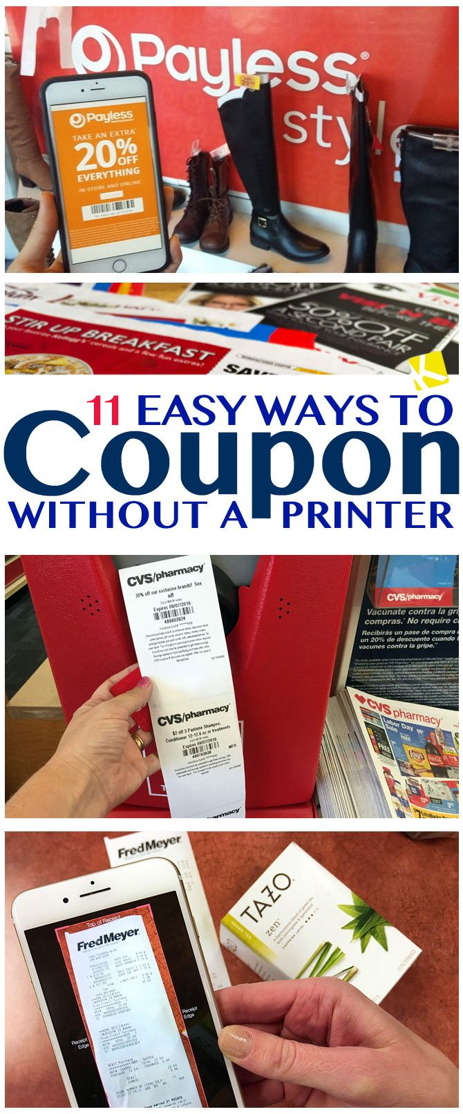 11 Easy Ways To Coupon Without A Printer Couponing For Beginners Coupons Grocery Coupons