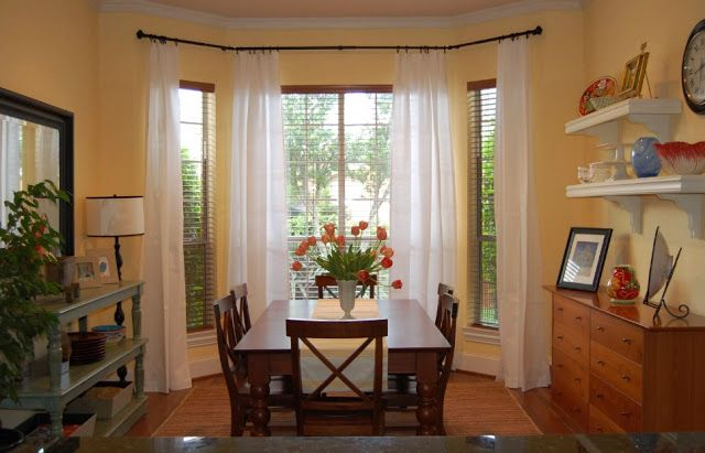 Casual Dining Room Curtain Ideas Unique Dining Rooms Pinterest