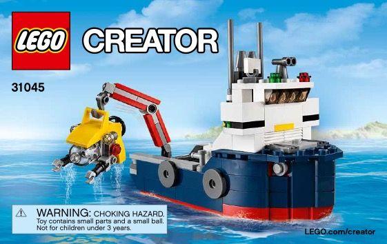 Creator Ocean Explorer Lego 31045 00 Lego Box Or Cover