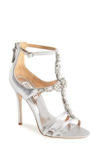 Women's Badgley Mischka 'Giovanna II' Satin Ankle Strap Sandal