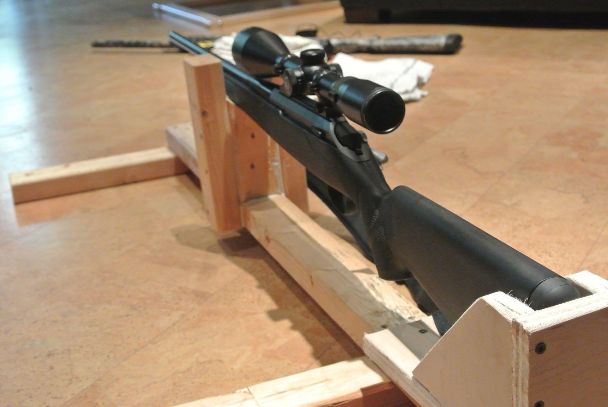 DIY Shooting Rest Shooting rest, Shooting bench plans