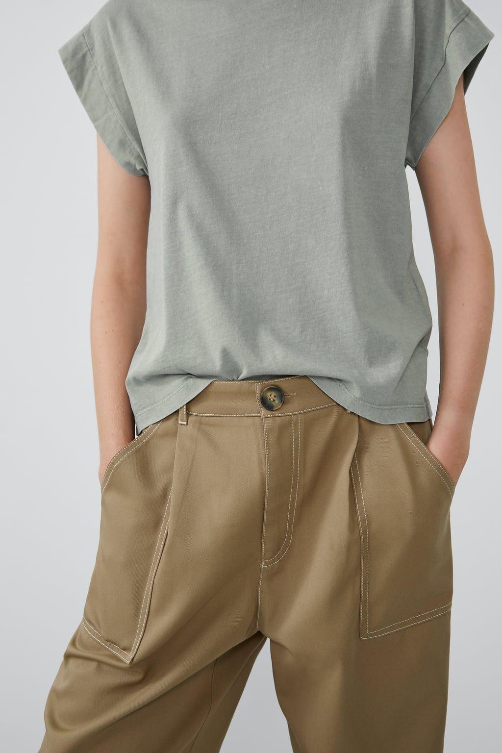 Washed effect t shirt | TOPS in 2019 | Shirts, T shirt