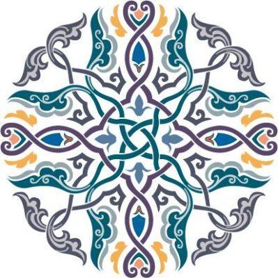 קישוטים Geometric Pattern Art Islamic Art Pattern Islamic Motifs