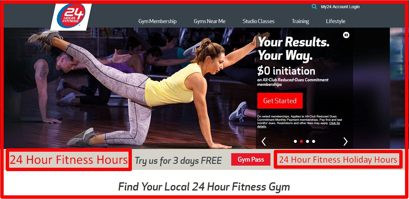 24 Hour Fitness Store Hours 24 Hour Fitness Holiday