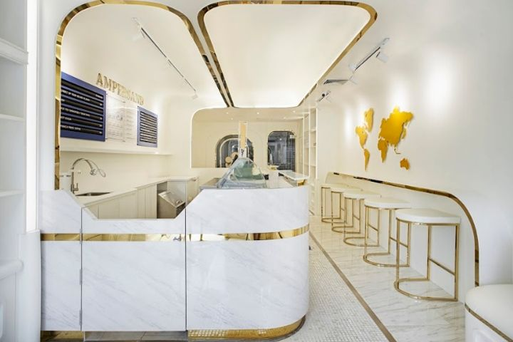 Ampersand ice-cream shop by party/space/design, Bangkok – Thailand ...