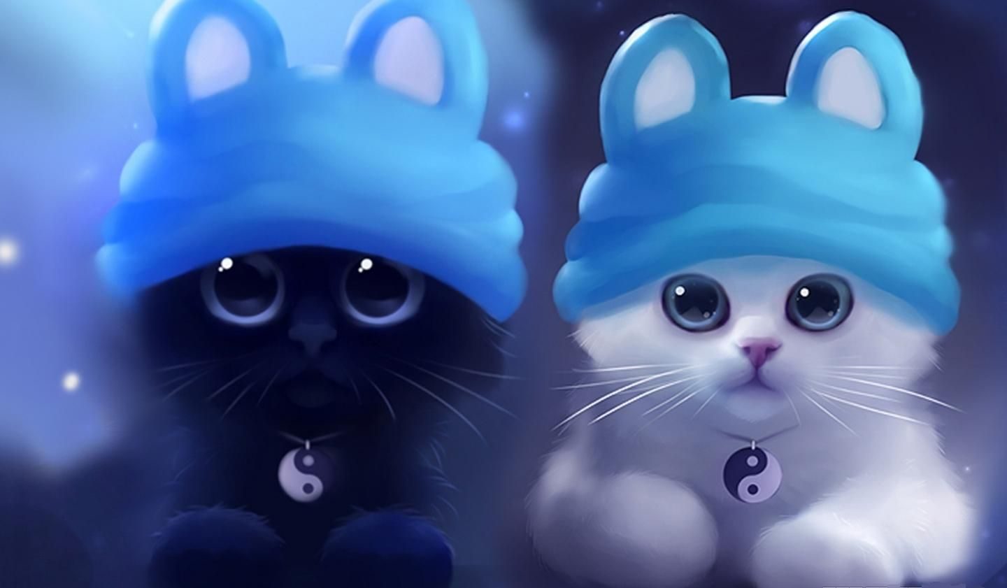 Cute Wallpapers 3d Cats The Cool Art Animal Wallpapers Cats