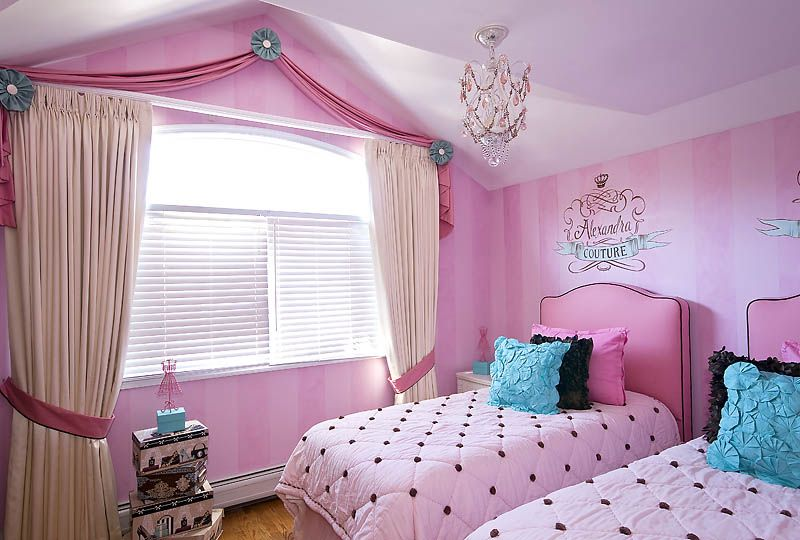Shabby Chic bedroom designed for two beautiful girls wwwlocal