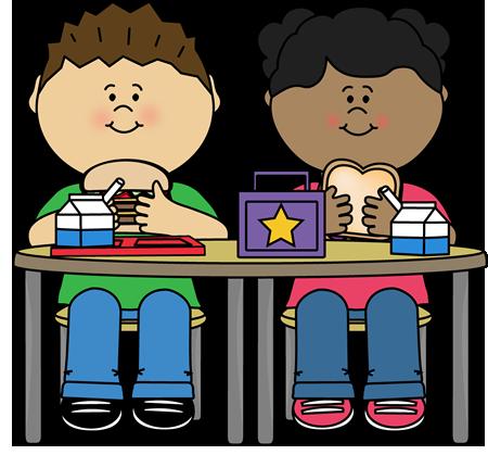 Kids Eating School Lunch Clip Art Kids Eating School Lunch Image Kids Clipart Clip Art School Images