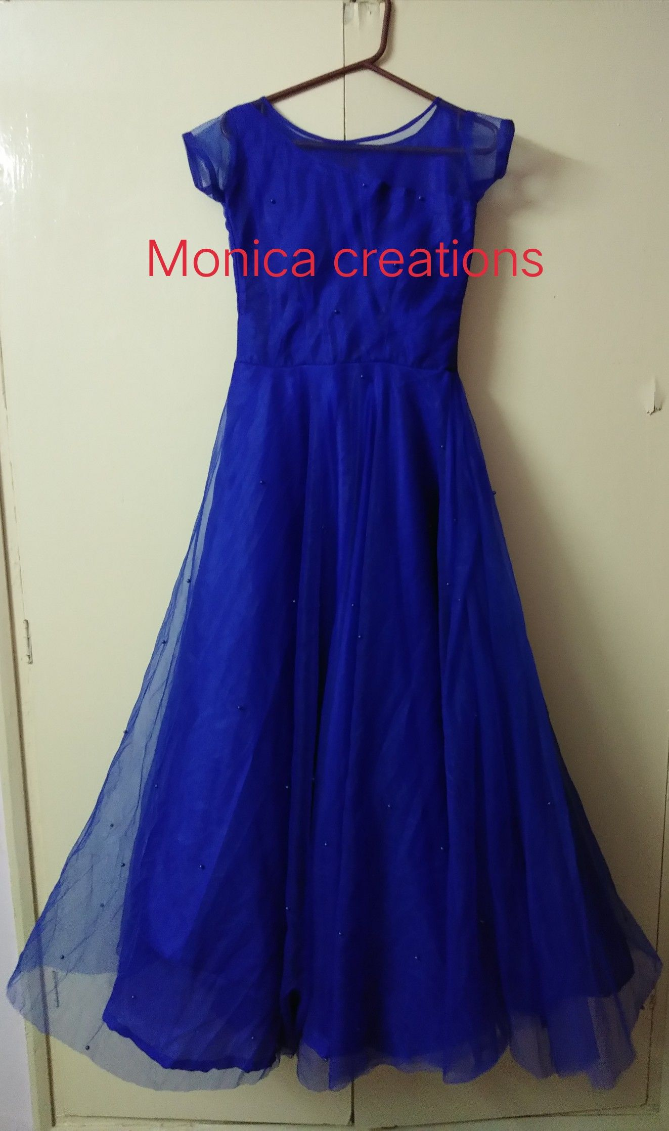 Monica's Blue Dress