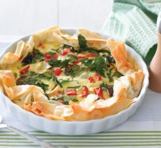 Simple vegie quiche that is high in calcium and protein so will keep australian recipes forumfinder Images