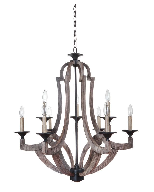 Jeremiah Lighting 35129 Winton Two Tier 9 Light Candle Style Chandelier - 30 Inc Weathered Pine  sc 1 st  Pinterest & Jeremiah Lighting 35129 Winton Two Tier 9 Light Candle Style ... azcodes.com