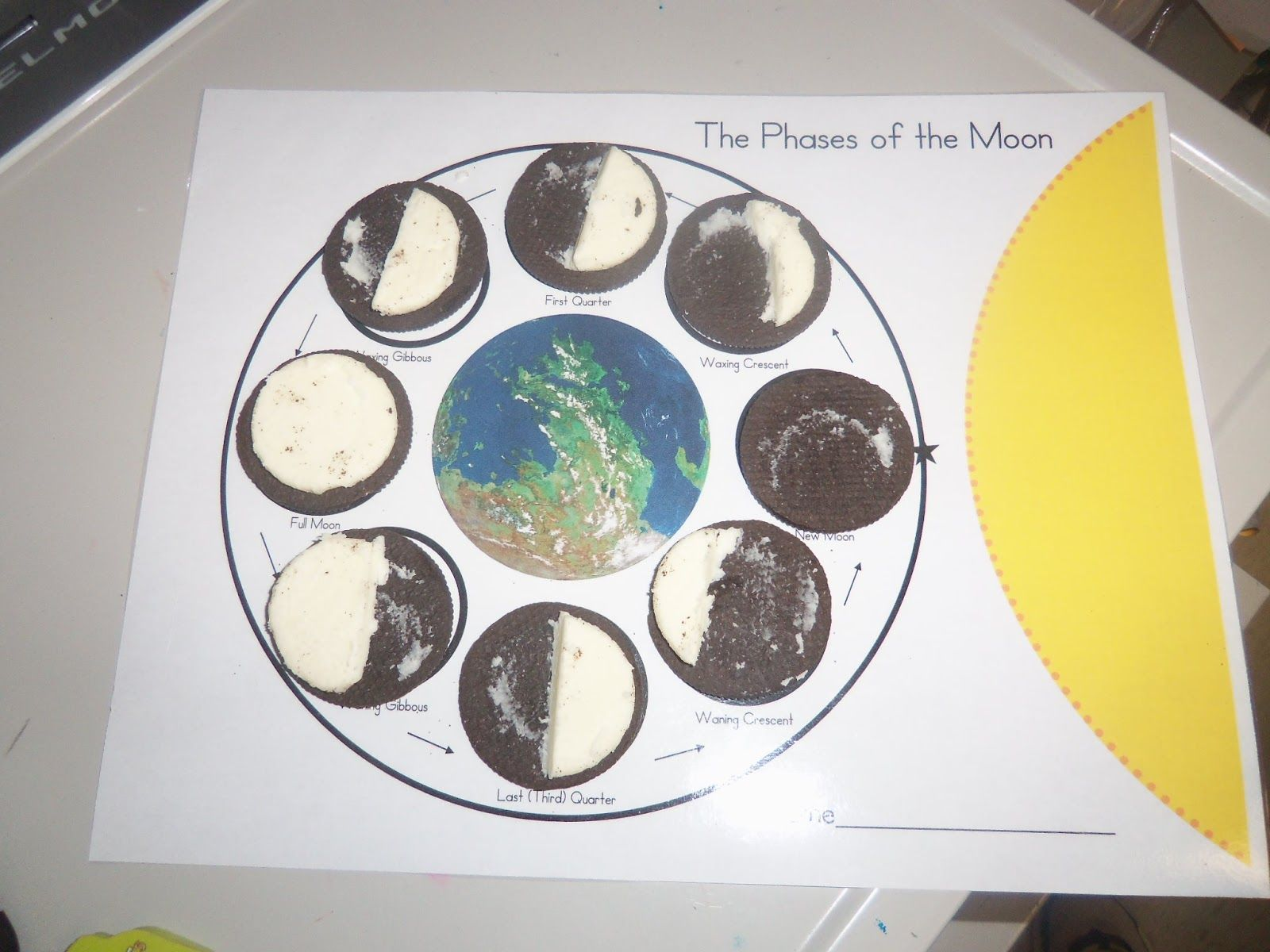 Great Version Of The Oreo Moon Phases