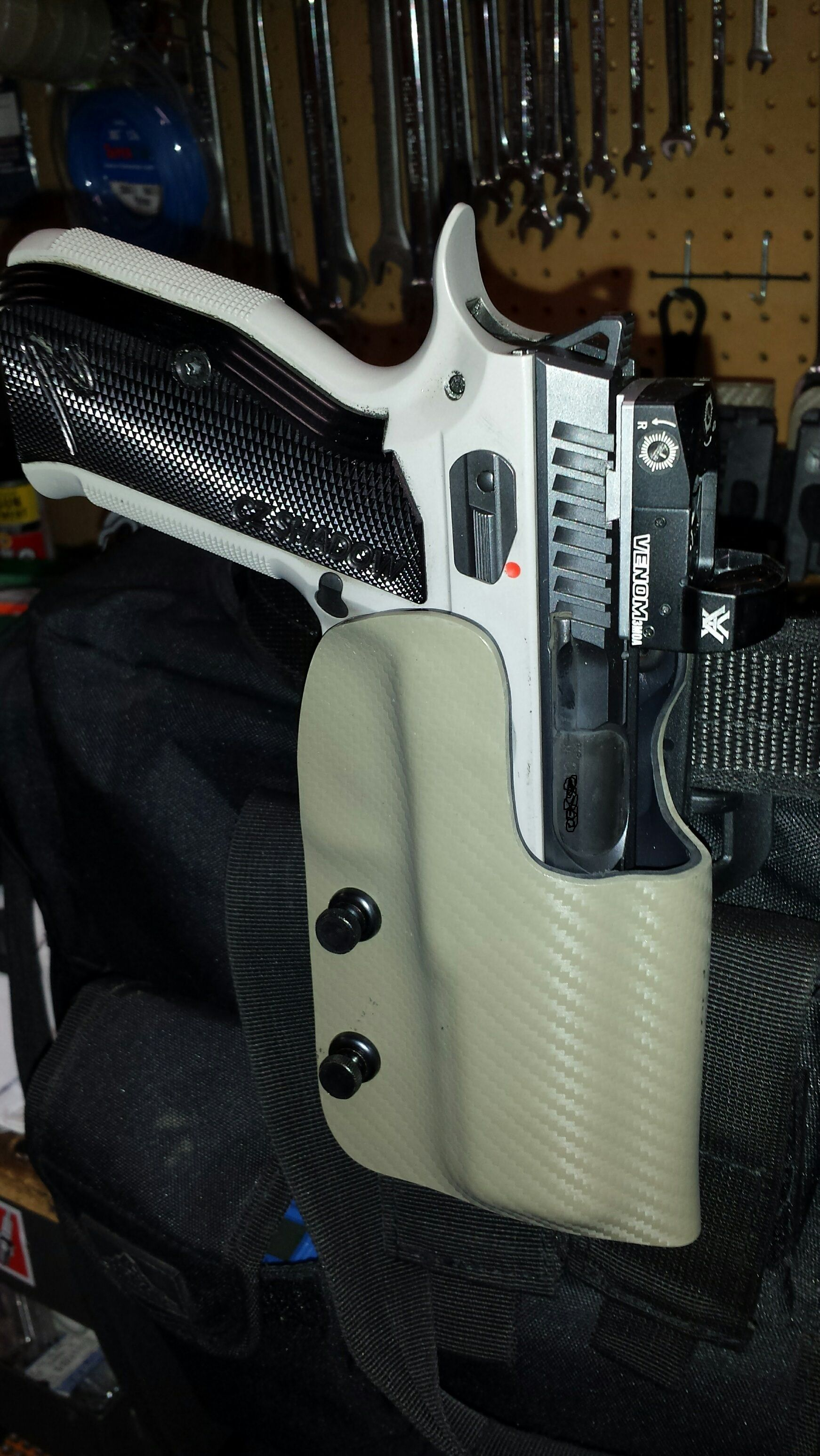 Slide mounted red dot for a CZ Shadow 2 - Alberta