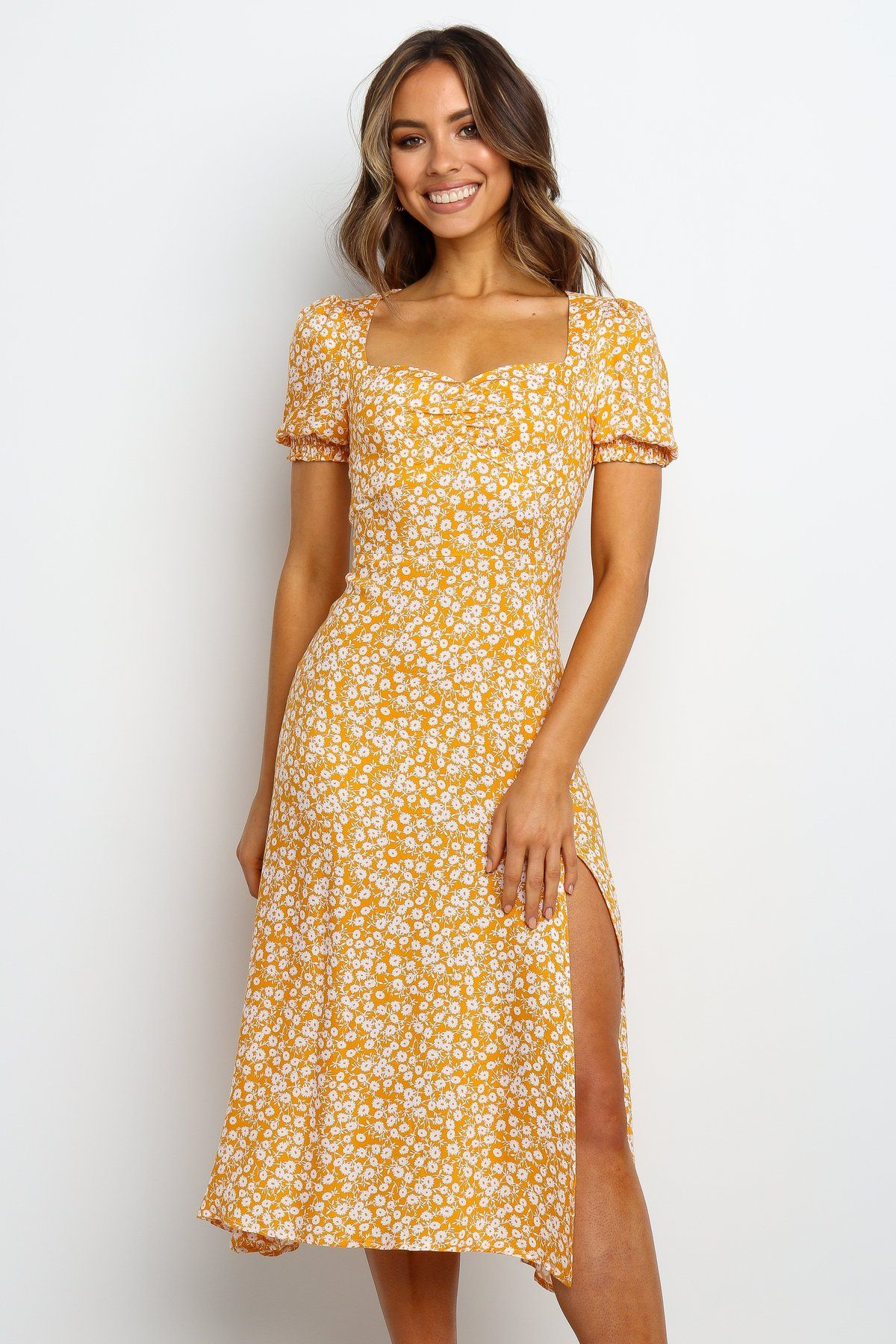 marlee dress - orange - petal & pup usa in 2020 | casual