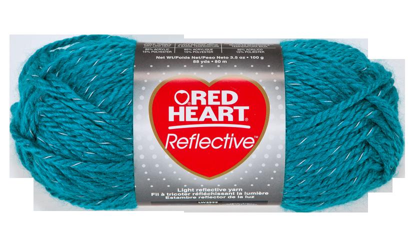 Knitting Kits Michaels : Peacock reflective yarn red heart saw this at