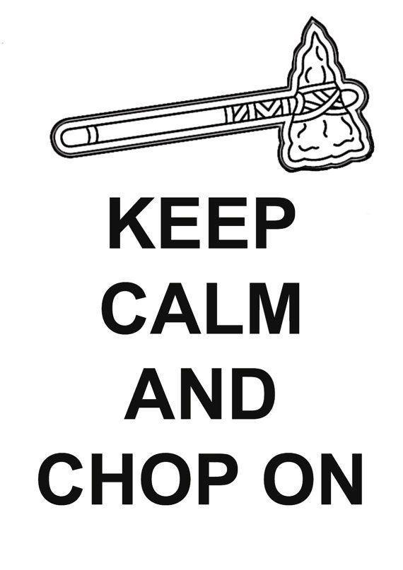 Atlanta Braves Keep Calm And Chop On Decal By Btwocreations On Etsy Atlanta Braves Wallpaper Atlanta Braves Braves Tomahawk