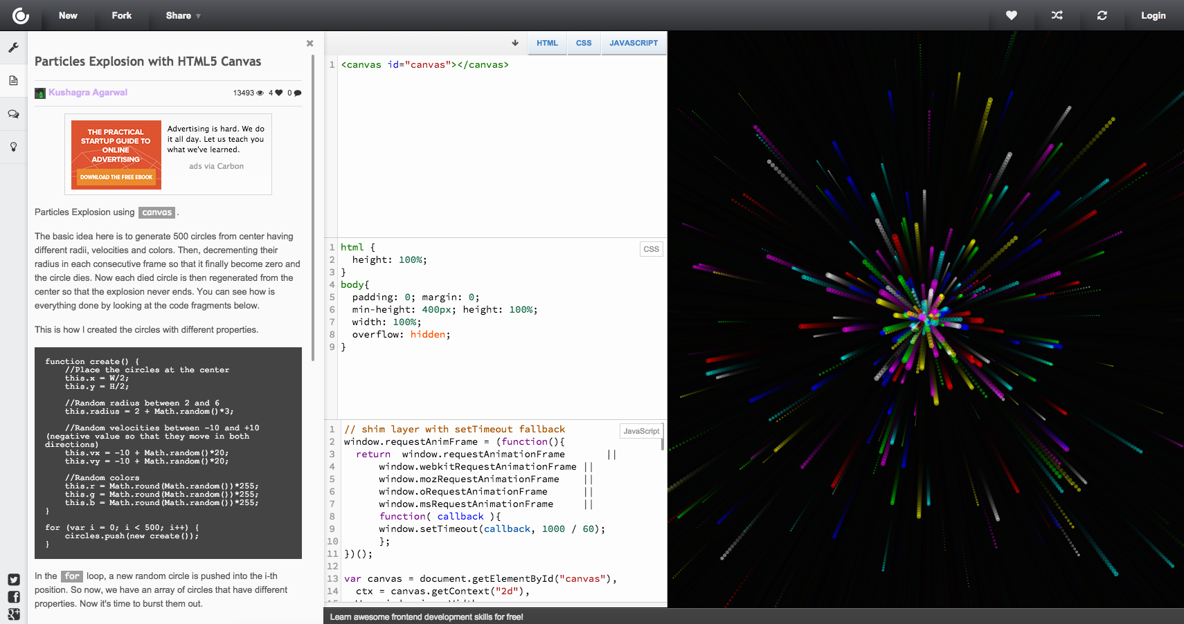 Pin by Murilo Ferreira on Resources | Html5 canvas, Desktop