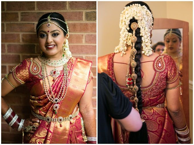 Amazing South Indian Bridal Hairstyles #Bridalhairstyle #SouthIndian | Bride, South indian bride ...
