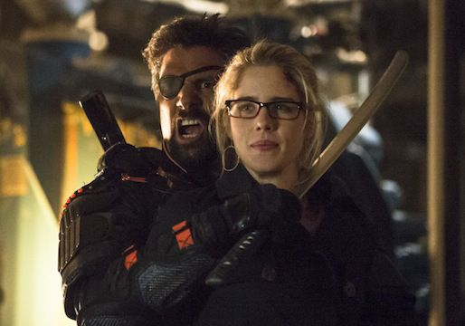 Deathstroke y Felicity