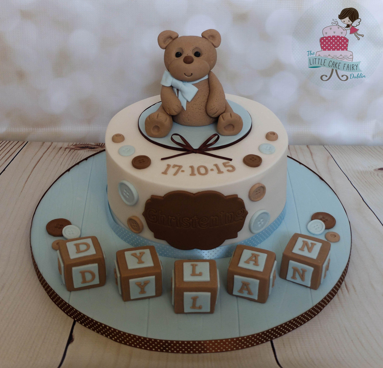 Bear And Blicks Baby Shower Cake
