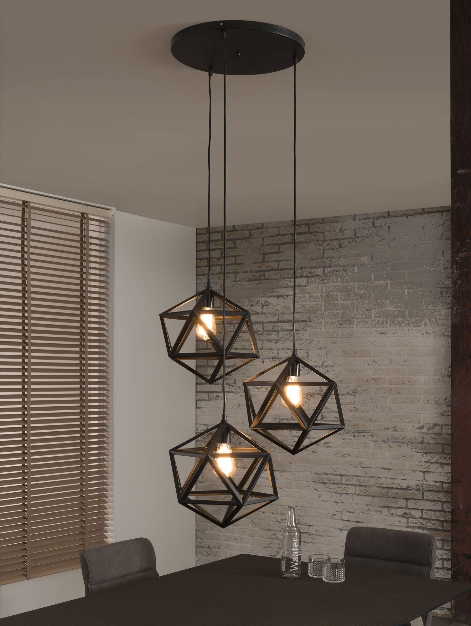 Hängelampe HANNA mit 5 Leuchten  Hängelampe wohnzimmer, Lampen