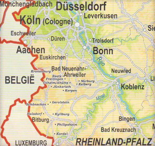 Eifel Kaart Jpg 498 469 Kaarten