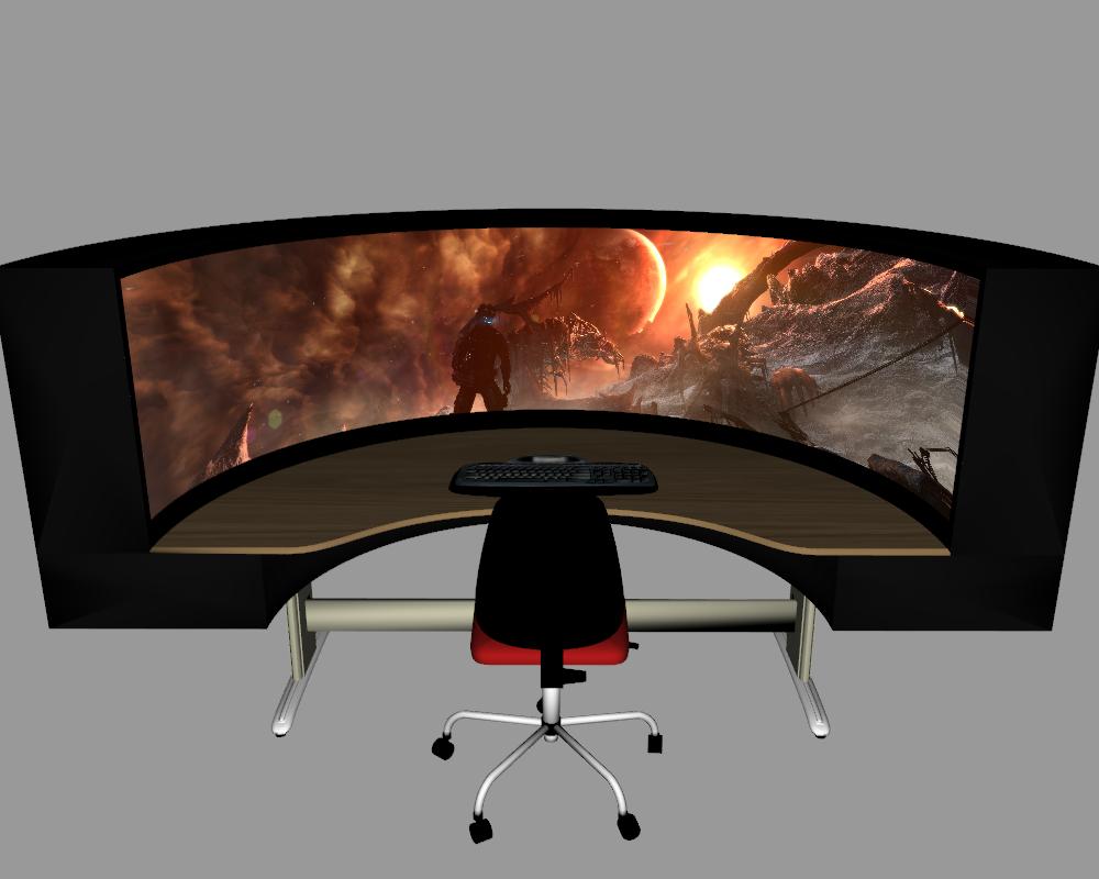 Good Gaming Computer Desks Queen Office Pinterest