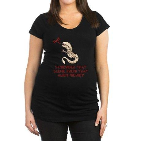 89650a796f31d Best maternity shirt EVER! Alien Pregnancy (Maternity T-Shirt ...