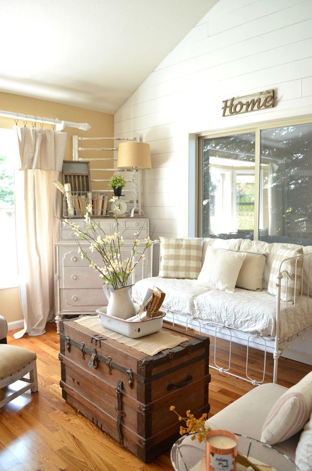 Home Decor Home Tour Farmhouse living room furniture
