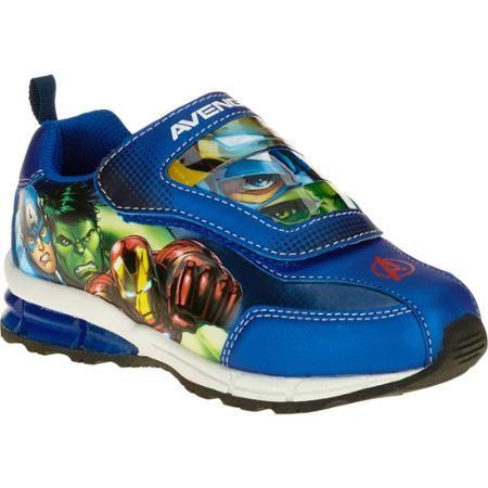 315b97c21c1f93 Avengers Toddler Boys  Athletic Running Shoe - Walmart.com