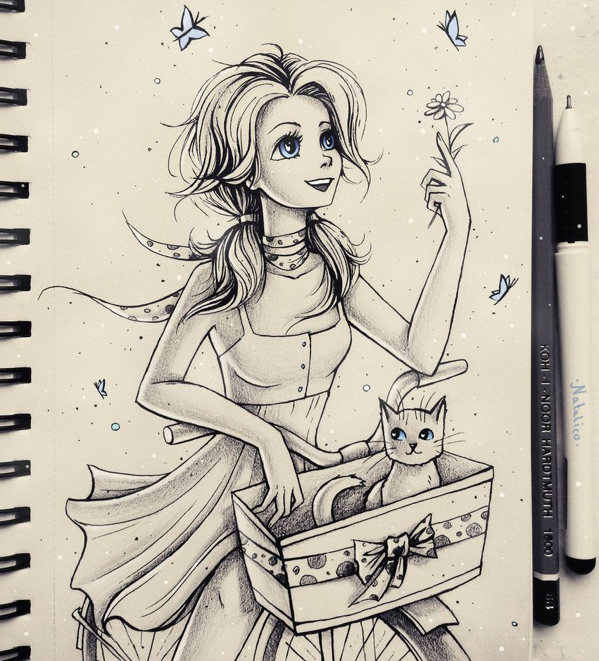 You can see more sketches on my Instagram profile: instagram.com/_natalico_/ ^^